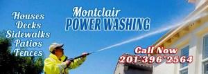 Power Washing House, Deck, Fences, Sidewalks & Patios - Montclair, New Jersey