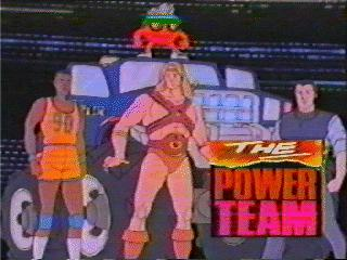 Lost Classics The Video Power Team Animated TV Show POWETTV Games Comics TV Movies