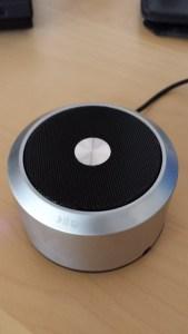Oberseite ECANDY EasyAcc Bluetooth Lautsprecher