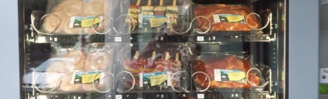 Bratwurst aus dem Automat
