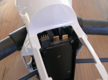 Batterie Fach