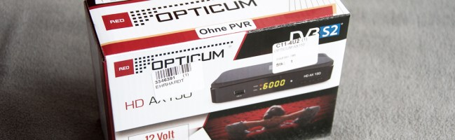 Opticum AX150 Receiver