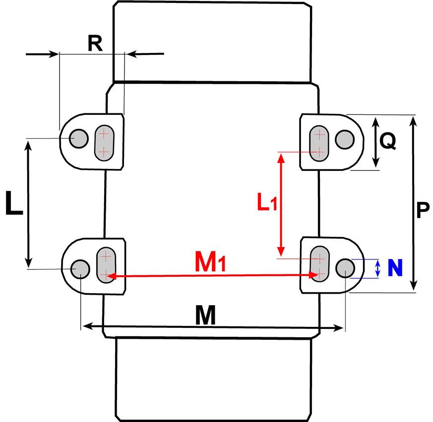 VE3 3600 rpm Industrial Vibrators 3-Phase