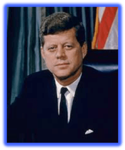 "POTUS 35 - John Fitzgerald Kennedy: ""He thought he was a god""."