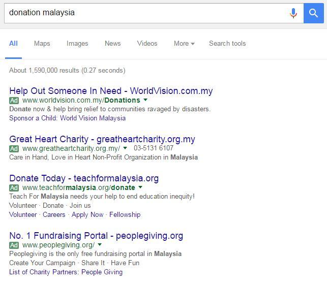 google-keyword-search-donation-malaysia