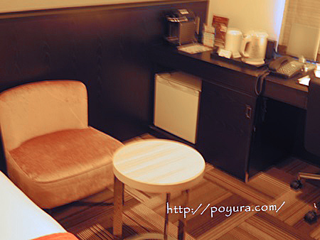 東京の三井ガーデンホテルのお部屋感想