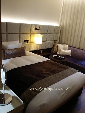 三井ガーデンホテル大阪プレミアのベッド