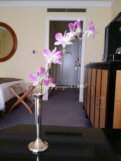 ホテル阪急インターナショナルに飾ってあったお花