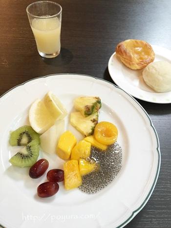 リーガロイヤルホテル大阪の朝食バイキング食べた