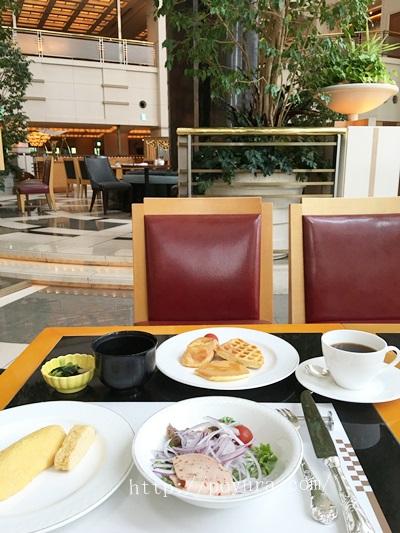 帝国ホテル大阪宿泊感想朝食バイキング