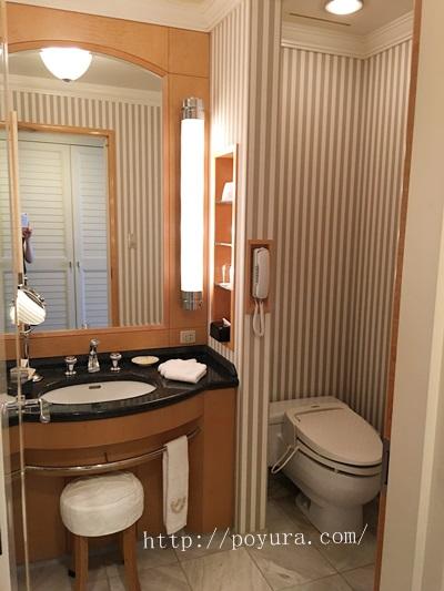 帝国ホテル大阪宿泊感想サニタリールーム