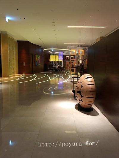 インターコンチネンタルホテル大阪宿のラウンジ