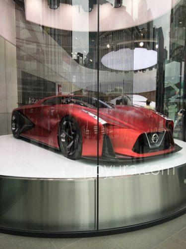 銀座で見た日産車