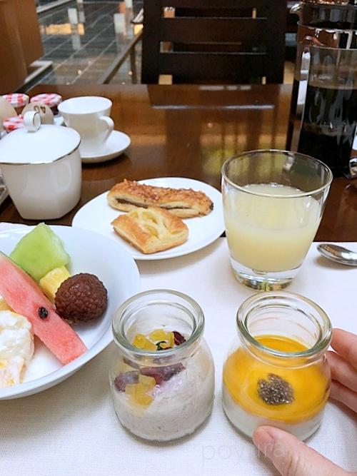 ストリングスホテル東京インターコンチネンタルのビュッフェ朝食