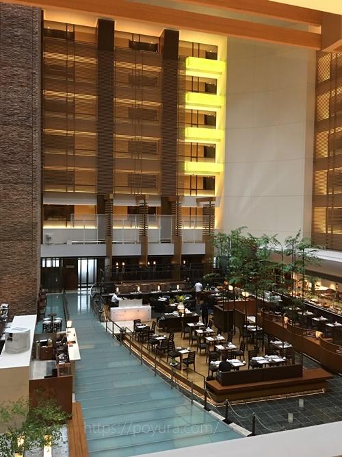 ストリングスホテル東京インターコンチネンタルでのビュッフェ