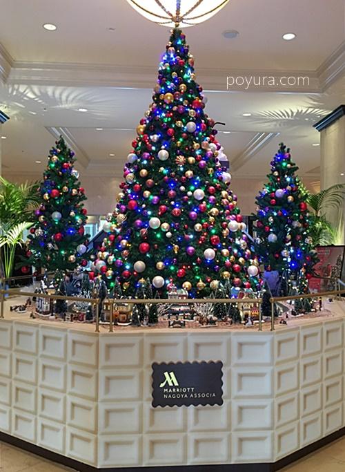 名古屋マリオットのクリスマスツリー