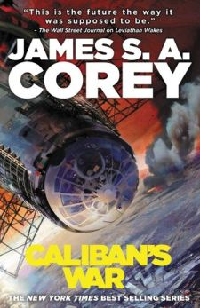 corey caliban's okładka wojna kalibana