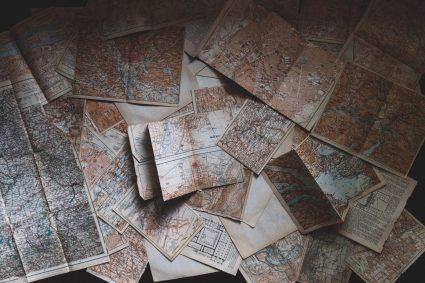 europa mapy