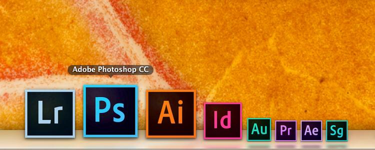 Adobe Creative Cloud в доке