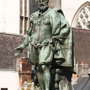 Памятник Рубенсу на Greonplaats