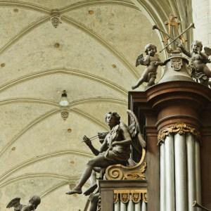 Оформление органа в Sint Jacobskerk