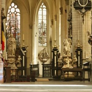 Интерьер Sint Jacobskerk