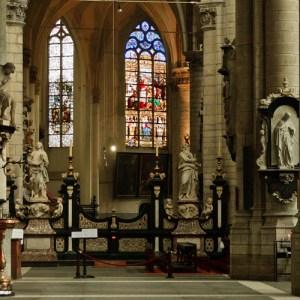Sint Jacobskerk, в этой церкви находится могила Рубенса