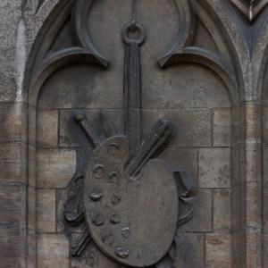 Вход в Kathedraal van Antwerpen