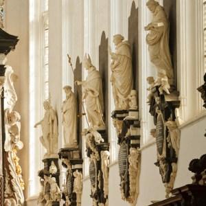 Фрагмент интерьера Sint Pauluskerk