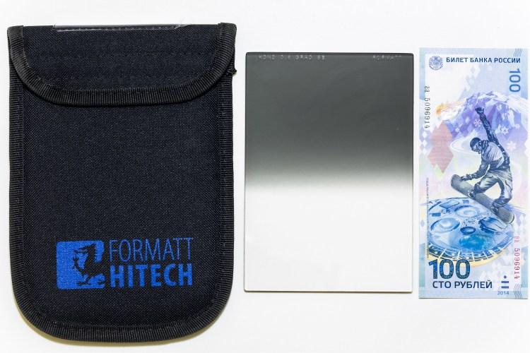 """Нейтрально-серый градиентный фильтр Formatt HD ND Soft Edge .6 4×4.5"""""""