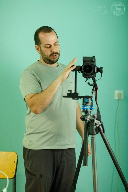 Дмитрий Монастырский проводит семинар о съёмке сферических панорам