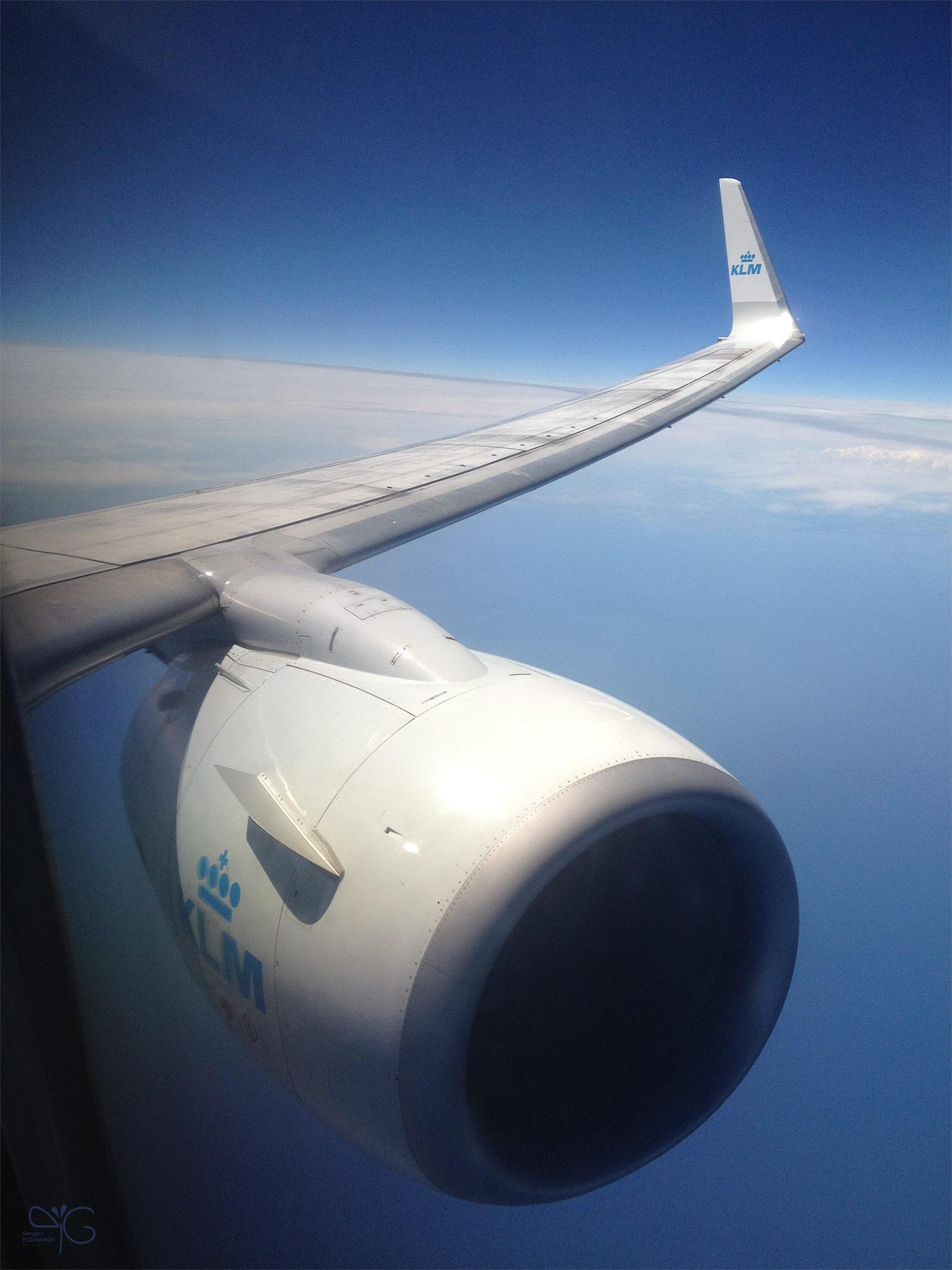 В небе над Балтийским морем (Boeing 777)