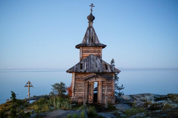 Бутафорская церковь на Есусаарет. Фото Мити Григорьева