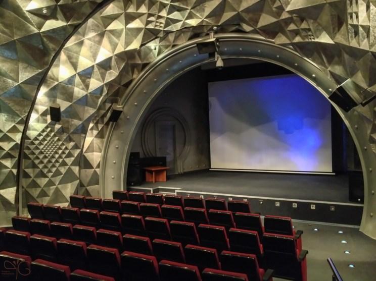 Кинозал в Мемориальном музее космонавтики