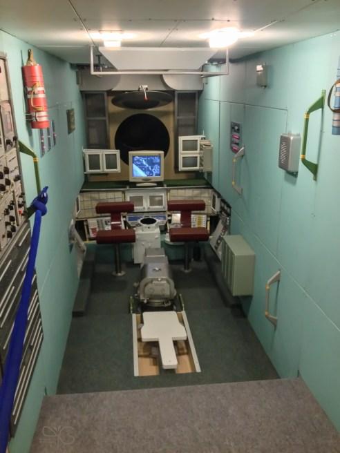 Макет орбитальной станции Мир. Мемориальный музей космонавтики