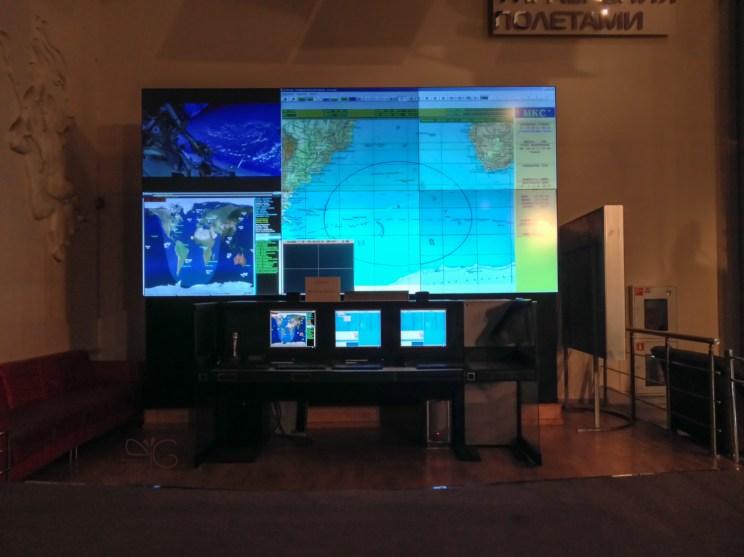 Траектория полёта МКС над Атлантическим океаном в реальном времени. Мемориальный музей космонавтики