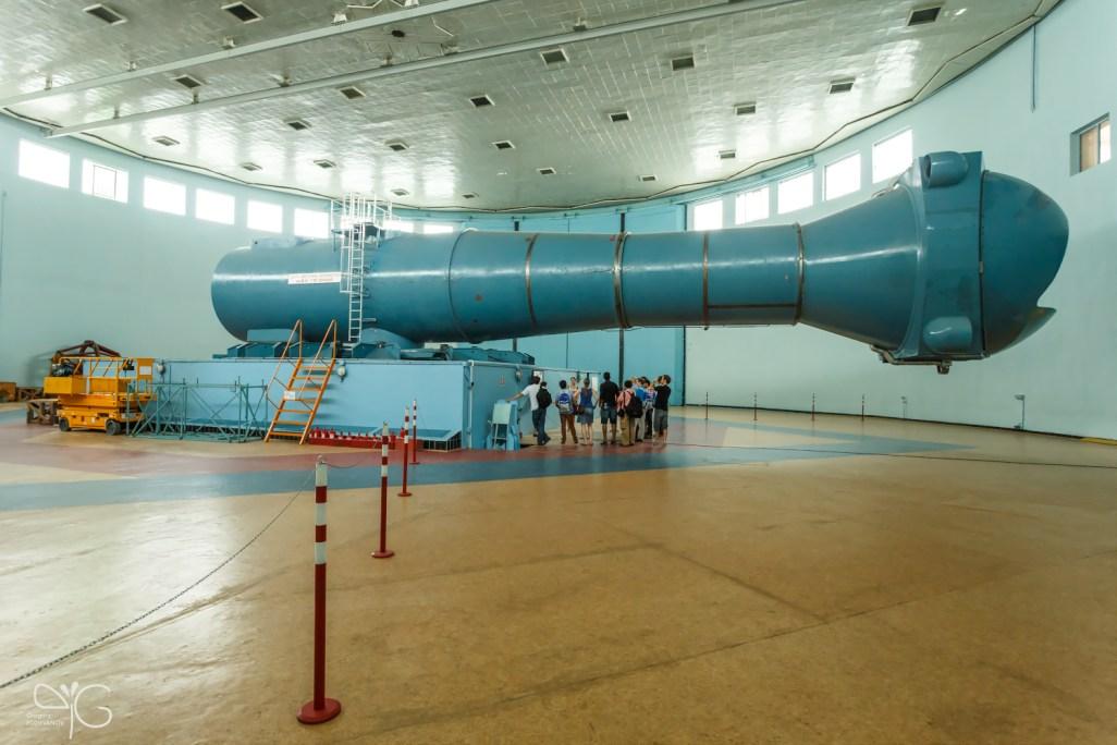 Центрифуга в Центре подготовки космонавтов им. Ю.А.Гагарина