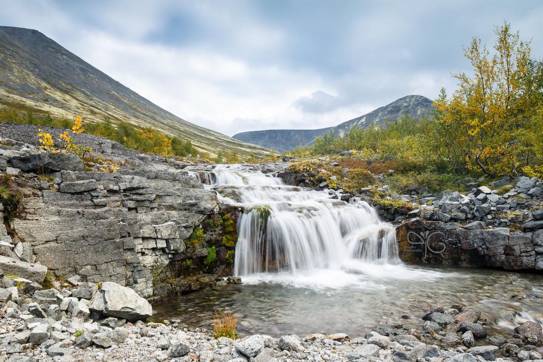 Верхний водопад на Рисйоке