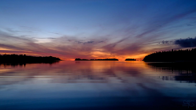 Облака над Исо-Койрасари перед рассветом