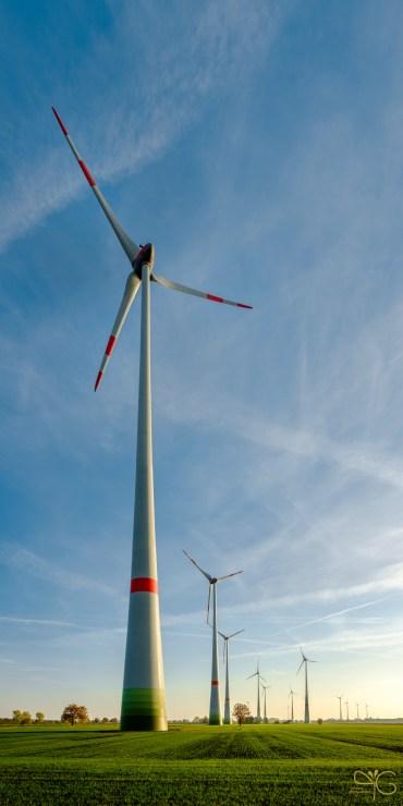 Ветряки у местечка Нойндорф