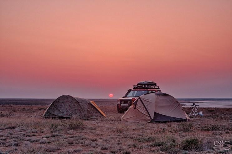 Лагерь на оз. Эльтон