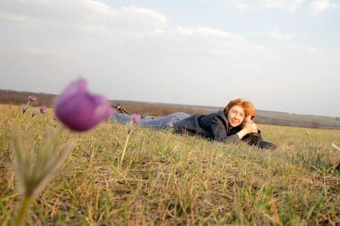 Фото: Марина Лощенко. Прострелы в Ямской степи