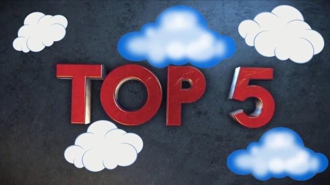 топ 5 облака