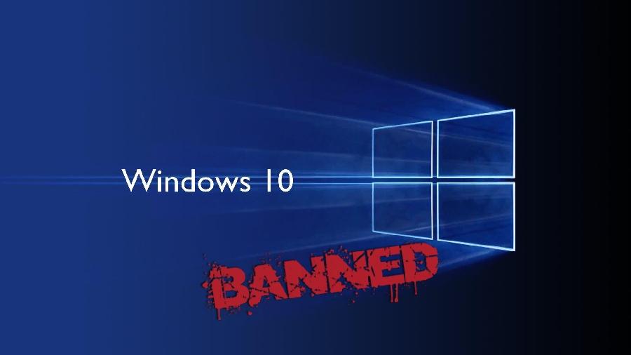 Любители «крепкого словца» лишатся лицензии Windows 10.