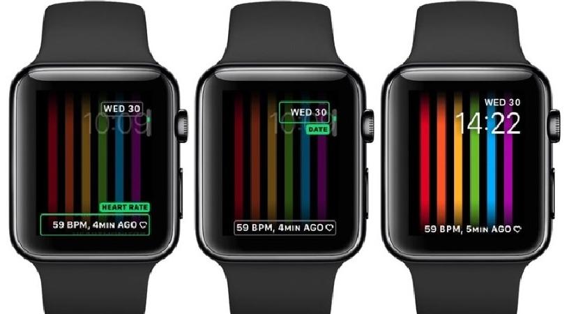 У Apple Watch появился «радужный» циферблат.
