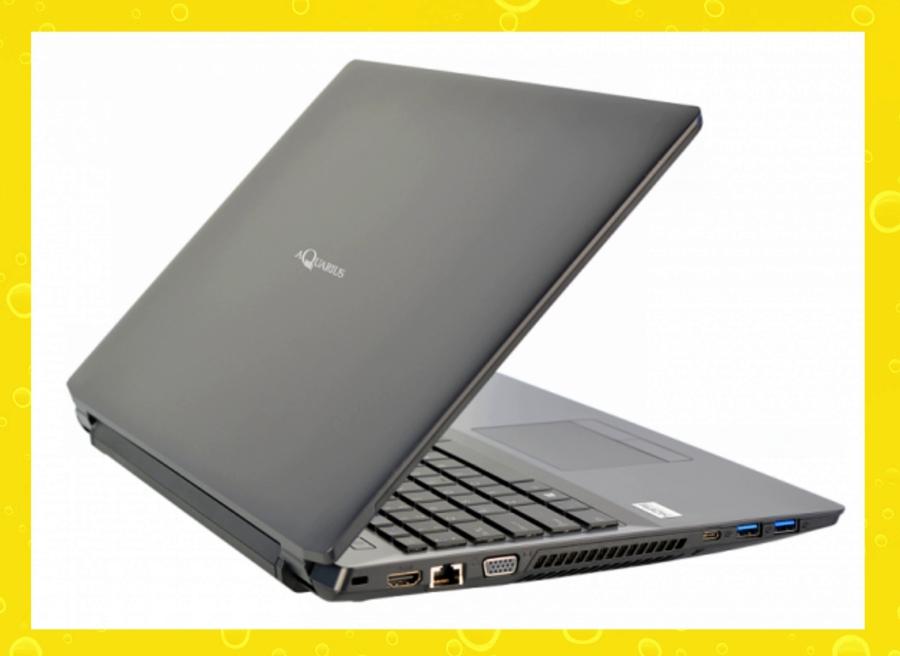 Aquarius выпустил первый отечественный ноутбук.