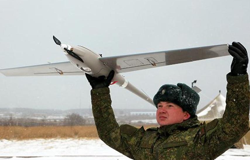 Российская армия вооружается беспилотниками.