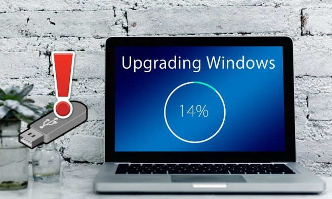 В неудачном обновлении Windows 10 будут виноваты флешки!