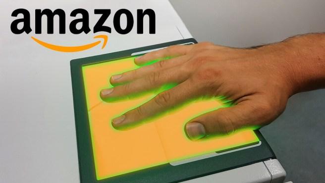 В Amazon разрабатывают технологию «оплаты ладонью»