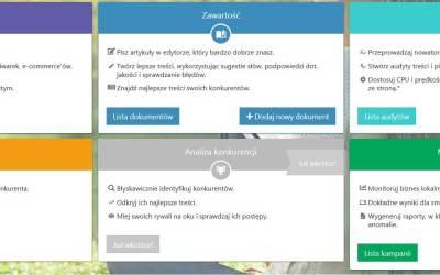 Semstorm - strona główna narzędzia